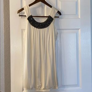 BCBG Maxazria White Bubble Dress